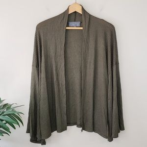 NWT Sunday In Brooklyn | Minnie Waffle Cardigan